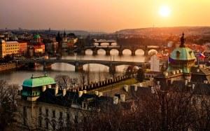 Sunrise-in-Prague