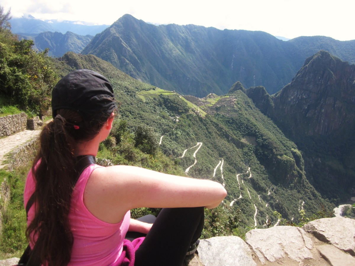 Alli in the Andes - Hiking the Inca Trail