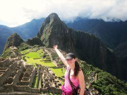 Machu Picchu after hiking the Inca Trail
